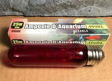 25W Incandescent Aquarium Bulb | Fits E26 Socket | Red