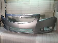 11 12 13 14 CHEVY CRUZE FRONT BUMPER GENUINE OEM PAINTED SILVER ICE 95217520