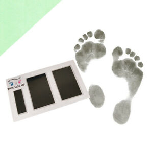 Baby Safe Inkless Footprint Kit | Black | 0-3 Months | Prints on Any Paper