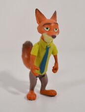 "2.75"" Nick Wilde Red Fox Poseable PVC Action Figure Zootopia Tomy Jason Bateman"