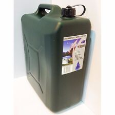 Icon Plastics HEAVY DUTY JERRY CAN & BUNG 20L, ARMY GREEN, BPA Free *Aust Made