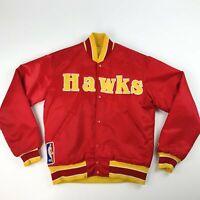 VTG NBA Atlanta Hawks Starter Satin New Haven Jacket Adult Small