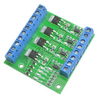 MOS FET 4Channels Pulse Trigger Switch Controller PWM Input Steady for Motor/LED