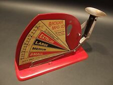 Vintage Antique Style Brower Mfg. Quincy, Ill. Jiffy Way Egg Scale