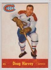 Doug Harvey 1955-56 Parkhurst Montreal Canadiens REPRINT Hockey Card #45