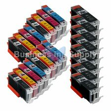 24+ PK Canon PGI-250XL CLI-251XL Compatible Ink Cartridge PGI-250 CLI-251 8xPGI