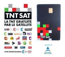 ✅ CARTE TNTSAT HD OFFICIELLE NEUVE VALABLE 4 ANS CHAINES TNT FRANCAISES PAR SAT
