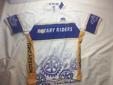 Voler Sports 2XL Half-Zip S/S White Cycling JERSEY Bicycle 2XL Shirt USA