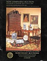 Northeast / Americana Folk Art Auction Catalog April 1994