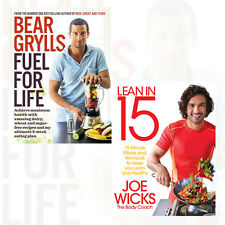 Lean in 15,Fuel for Life 2 Books Collection Set By Joe Wicks & Bear Grylls New