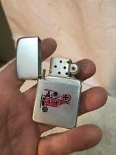 Vintage cigarette lighter airplane Red Baron motif Storm King USA lighter