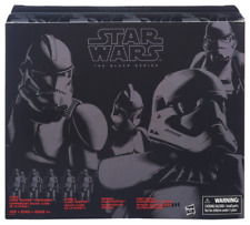 Star Wars Black Series Clone Trooper Stormtrooper Action Figure 4-Pack