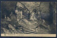 Grotte de Han 1925 Cartolina 100% Usata con 2  francobollI, La sala Vigneron