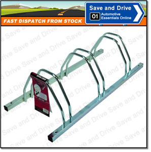 Mont Blanc Bike Park Floor Cycle Storage Holder For 3 Cycles 206430