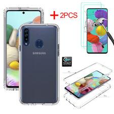 For Samsung Galaxy A10e A20 A50 A20S A51 A71 4G/5G Clear Case Screen Protector