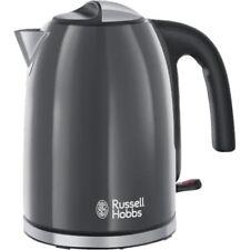 Russell Hobbs Colours Plus+ Storm Grey Wasserkocher Grau-Edelstahl 2.400 Watt