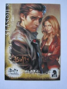 Buffy the Vampire Slayer Season 8 card DH-2 from 2007 by Inkworks