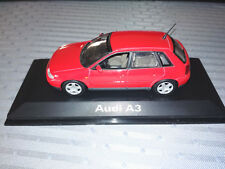 Audi A3 Type 8L 5-door 1996-03 Red 1:43 Minichamps