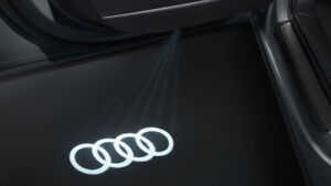 Original Audi LED Einstiegsleuchten Audi Ringe  4G0052133G