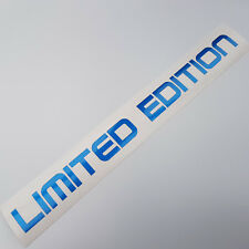 Limited Edition Metallic Bleu Voiture Autocollant Tuning Shocker DUB OEM JDM Sticker