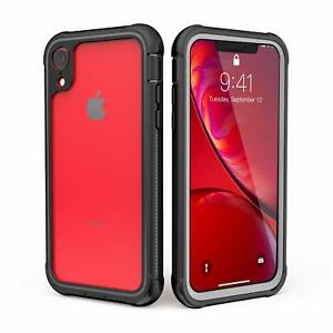 Shockproof Case with Built-in Screen Protector For Apple iPhone XR Case