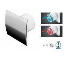 "Extractor Fan 100mm / 4"" Timer Humidistat Backdraft Shutter Bathroom WEI100HZ"