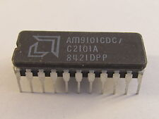 Am9101cdc AMD 256 x 4 bit Static RAM en CERDIP 22 carcasa
