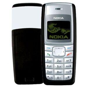 New Condition Nokia 1110i BLACK (Unlocked) Dust Free Mobile Phone UK seller