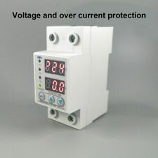 Voltage Protector 60A 230V Din Rail Adjustable Over Relay Current Protection