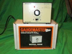 Gaugemaster 100M OO N Gauge Electronic Controller Transformer VGC Boxed