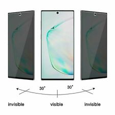 2-Pack For Samsung Galaxy Note 10 Plus Privacy Anti-Spy Screen Protector Film