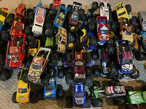Hot Wheels Monster Jam Trucks 1:24 Scale U Pick Lots of Choices + FREE Shipping