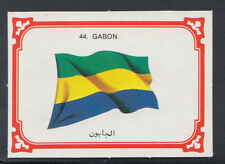 Monty Gum 1980 Flags Cards - Card No 44 - Gabon  (T616)