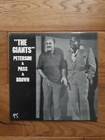 Peterson & Pass & Brown ‎– The Giants Pablo Records ‎– 2310-796 Vinyl, LP, Album