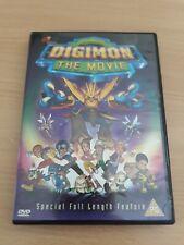 Digimon - The Movie - DVD - Animated - Free Post.