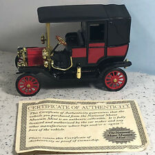 NATIONAL MOTOR MUSEUM MINT diecast model car 1911 ford town red black gold red
