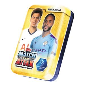 2019-20 TOPPS MATCH ATTAX CHAMPIONS LEAGUE MINI TIN 42 CARDS + LE CARD