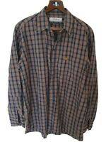 Mens chic BURBERRYS long sleeve shirt size XL. Immaculate RRP £175.
