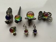 More details for 6 fireball pewter crystal animal collector ornaments