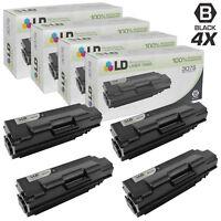 LD For Samsung MLT-D307S 4pk Black Toner ML-4512ND ML-5012ND ML-5017ND