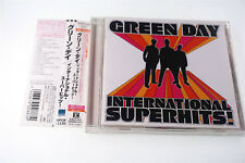 GREEN DAY INTERNATIONAL SUPERHITS! WPCR-11120 CD JAPAN OBI A1954