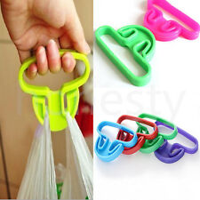 4xGrip Shopping Grocery Bag Holder Handle Carrier Tool Carry Ring Helper Machine