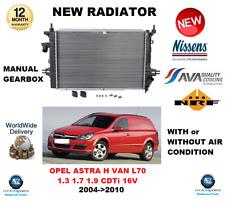Für Opel Astra H Van L70 1.3 1.7 1.9 CDTI 16V 2004- > 2010 Kühler OE Qualität