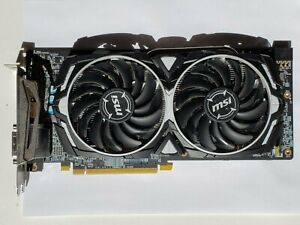 MSI Radeon Armor RX 580 4GB GDDR5 Graphics Card *FOR PARTS NOT WORKING*
