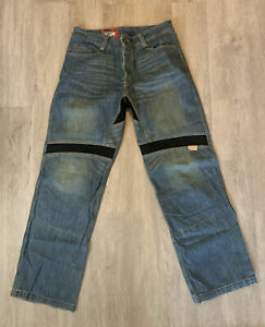 ICON Size 36 Standard Pant Asphalt Technologies Jeans Motorcycle Great Condit