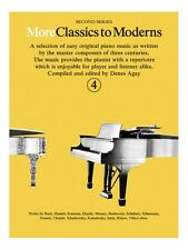 More Classics To Moderns 4 Learn to Play Present Gift MUSIC BOOK Piano
