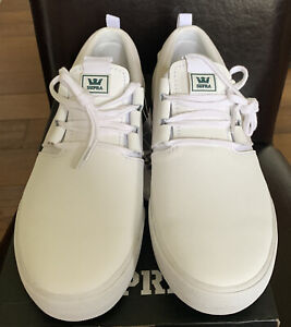 Supra Flow White/White/Gum Size Uk9 EU44