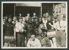 Studentenverbindung Rhenania Jena Mensur Wunde Blut Gasthof Zur Weintraube 1929