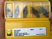 Kennametal VBMT160408LF KC5010 VBMT332 LF  Carbide Inserts 10pcs