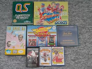 Selection of amstrad computer games